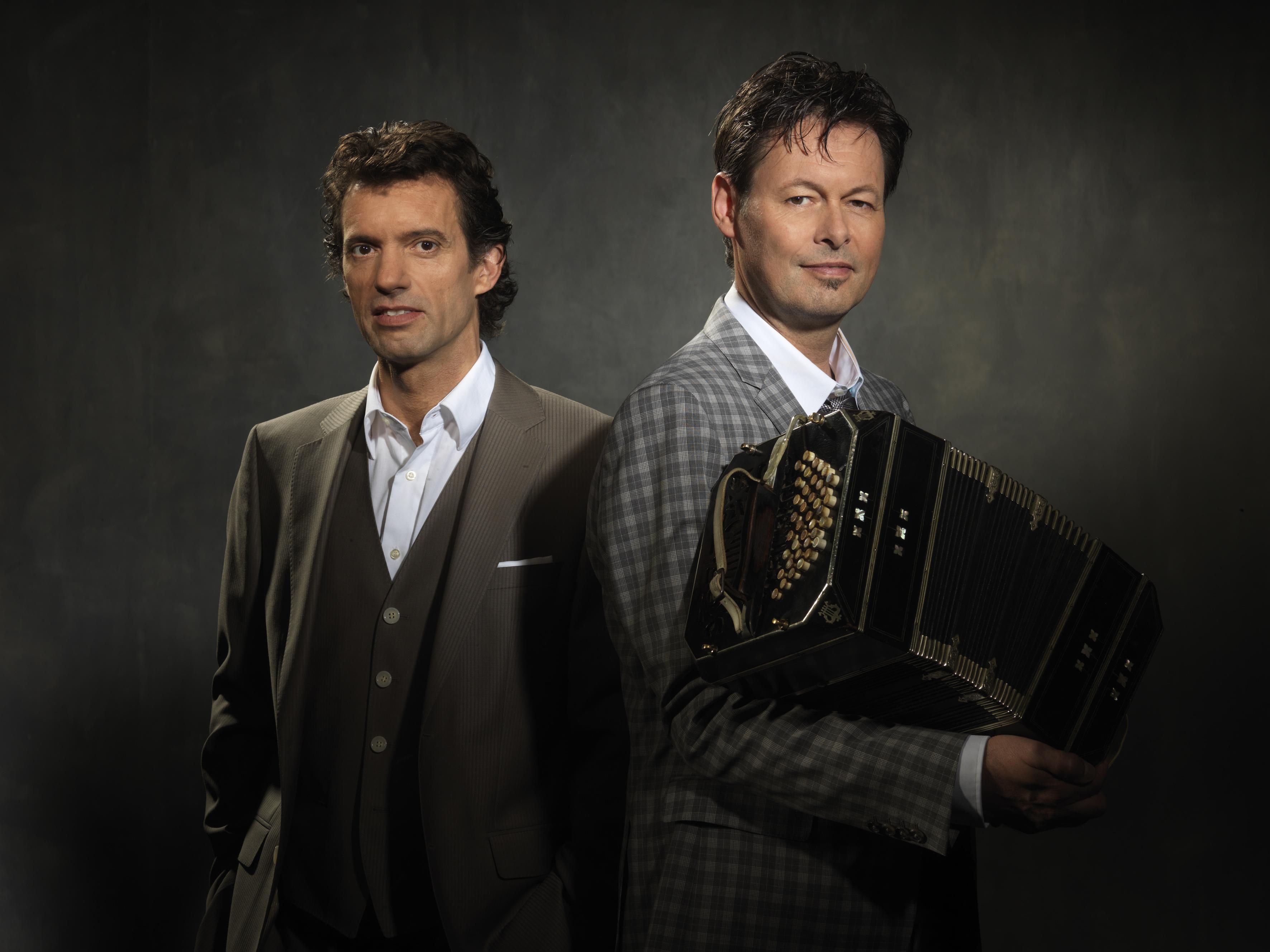 persfoto Duo Carel Kraayenhof & Juan Pablo Dobal