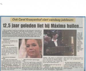 Telegraaf 2 aug. 2014