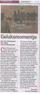 Telegraaf 28.10.14 cd Liberacion