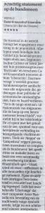 Trouw 14.11.14 recensie Liberaci