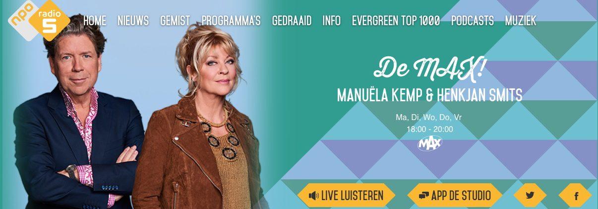 De Max, NPO Radio 5
