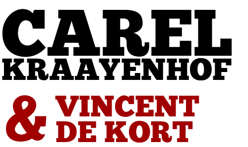 Carel Kraayenhof en Vincent de Kort