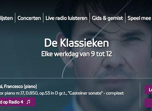 NPORadio4 De Klassieken