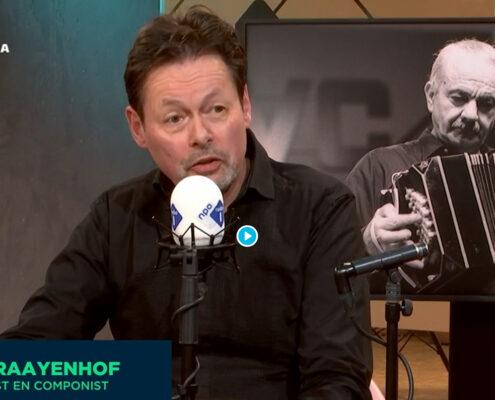 Carel Kraayenhof bij de Nieuws BV, NPO Radio 1