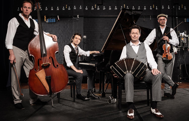 Carel Kraayenhof & Jaap Branderhorst, Juan Pablo Dobal en Bert Vos